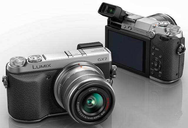 Fotografia della Panasonic GX7