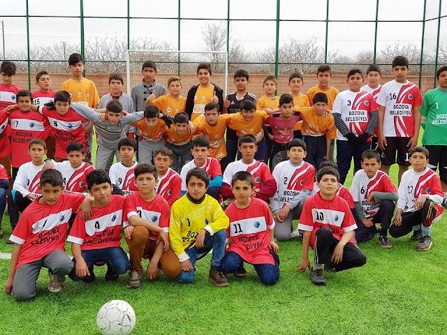 Bozovalı Gençler sporla hem öğreniyor hem eğleniyor
