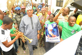 Image result for Senator Gbenga Ashafa brings free medical care to constituents