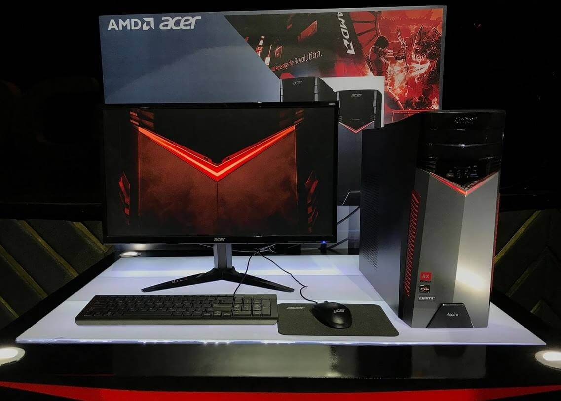 Ryzen-Powered Acer GX-281 Gaming PC