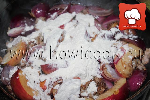 Свиные фрикадельки с мятой, яблоками и фасолью от Джейми Оливера рецепт пошаговые фото