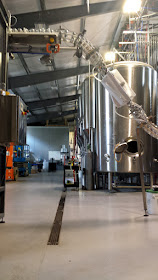 The inside of the Tree House Brewery.