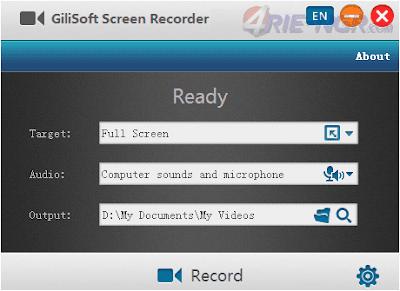 GiliSoft Screen Recorder 7.3.0 Full Version