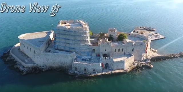 """Μπούρτζι: Το κάστρο """"σήμα κατατεθέν"""" του Ναυπλίου (βίντεο)"""