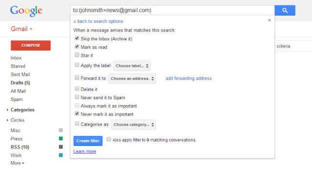 gmail,multiple gmail ids