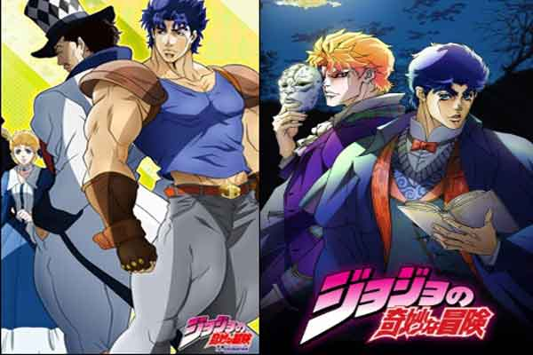 JoJo's Bizarre Adventure - anime terbaik