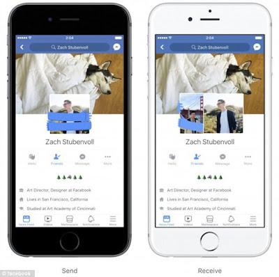 """Facebook sắp có cách """"thả thính"""" mới: Chọc, ôm ấp, nháy mắt nhau trên avatar cr thắng"""