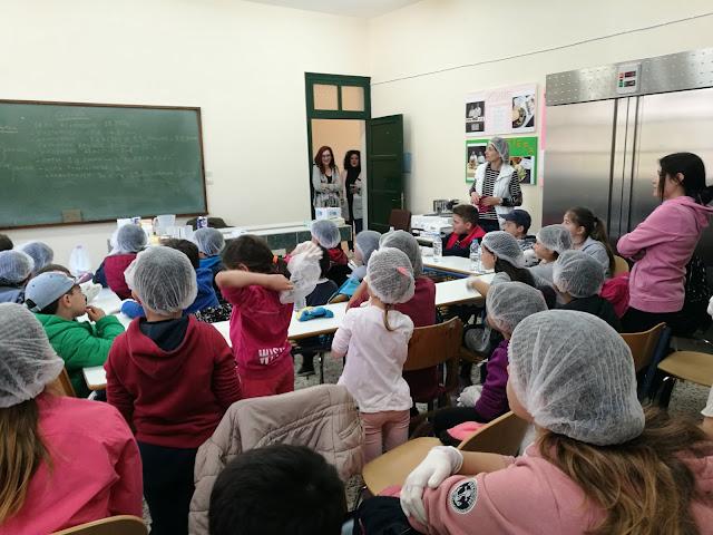 Μαθητές του Νηπιαγωγείου και του Δημοτικού Σχολείου Αγ. Δημητρίου στο ΙΕΚ Επιδαύρου