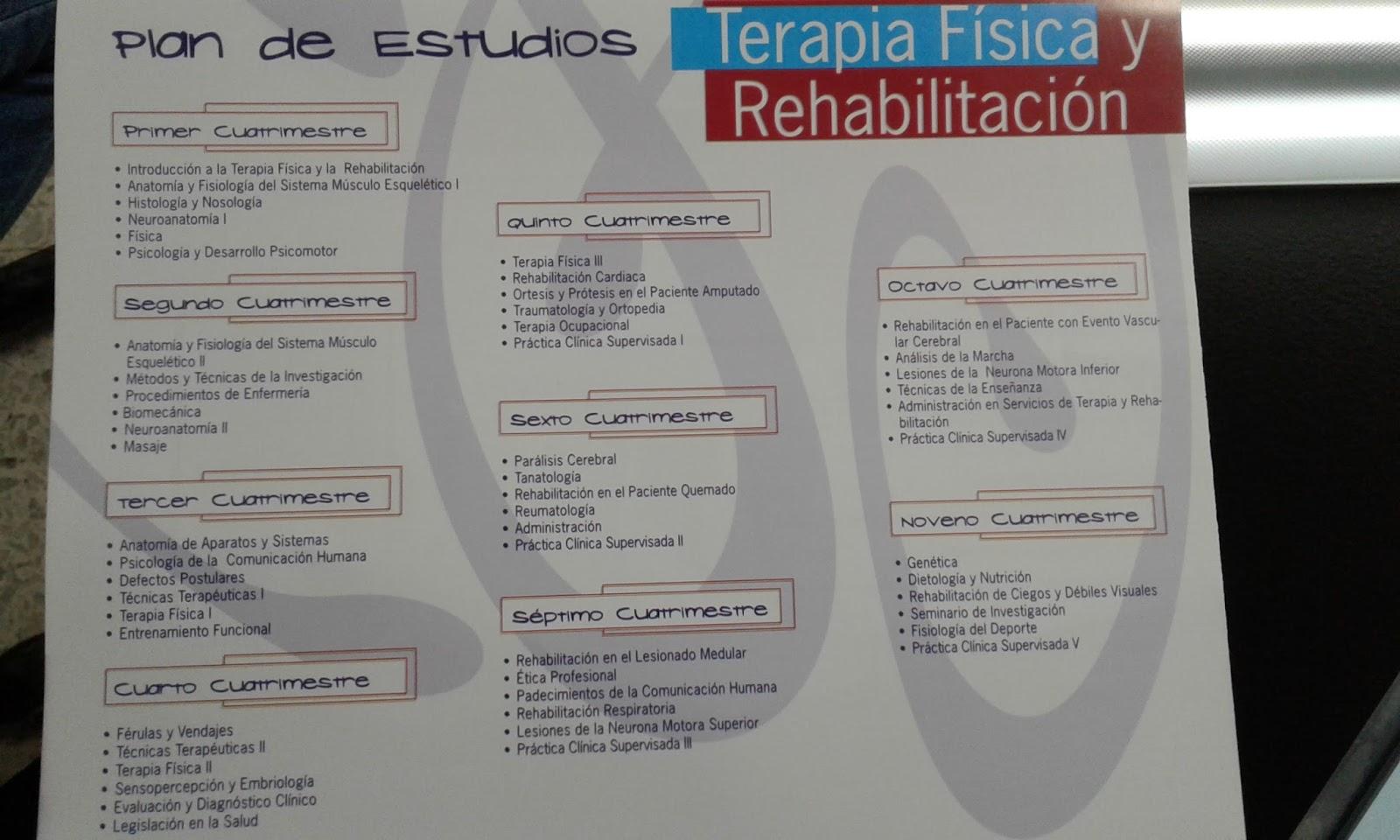 Licenciatura en Terapia Física - UPC PACHUCA