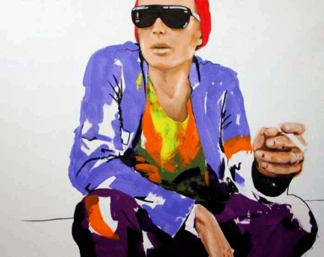 Флуоресцентные цвета. Yuliya Vladkovska