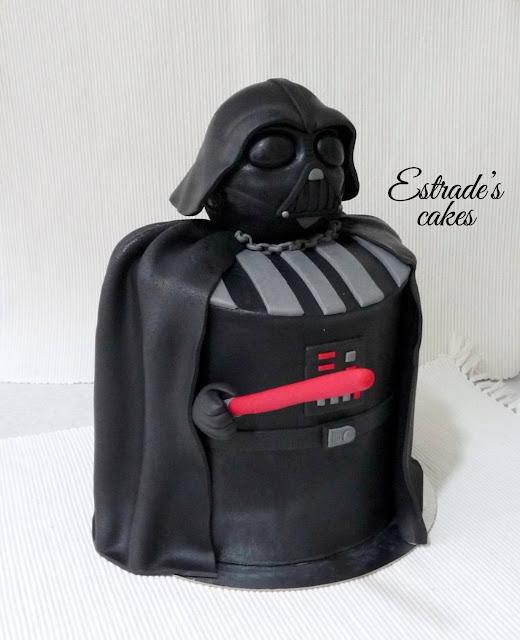 tarta de Darth Vader 1