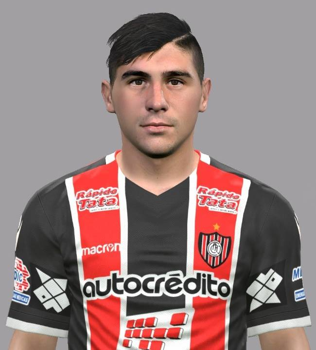 PES 2017 Cristian Erbes Face by Luis Facemaker