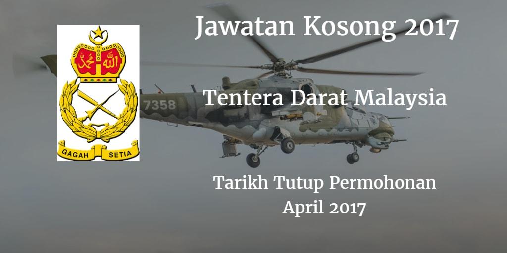 Jawatan Kosong TDM April 2017