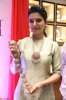 Samantha Ruth Prabhu in Cream Suit at Launch of NAC Jewelles Antique Exhibition 2.8.17 ~  Exclusive Celebrities Galleries 047.jpg