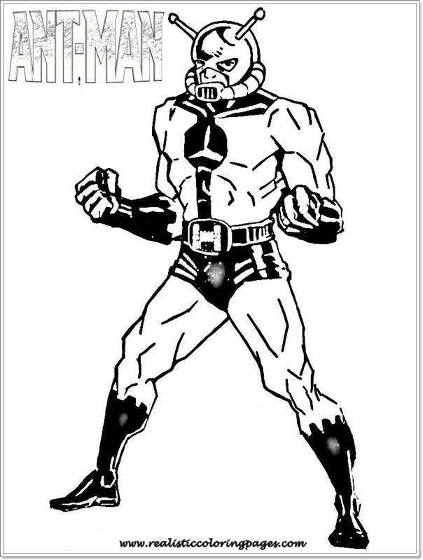 Captain America Realistic Coloring Pages
