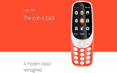 Ponsel Jadul Nokia 3310 Lahir Kembali di MWC