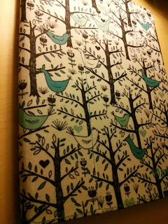 Love birds Teal FitFolio
