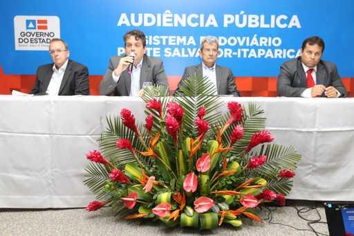 Projeto da Ponte Salvador-Itaparica avança com audiência pública