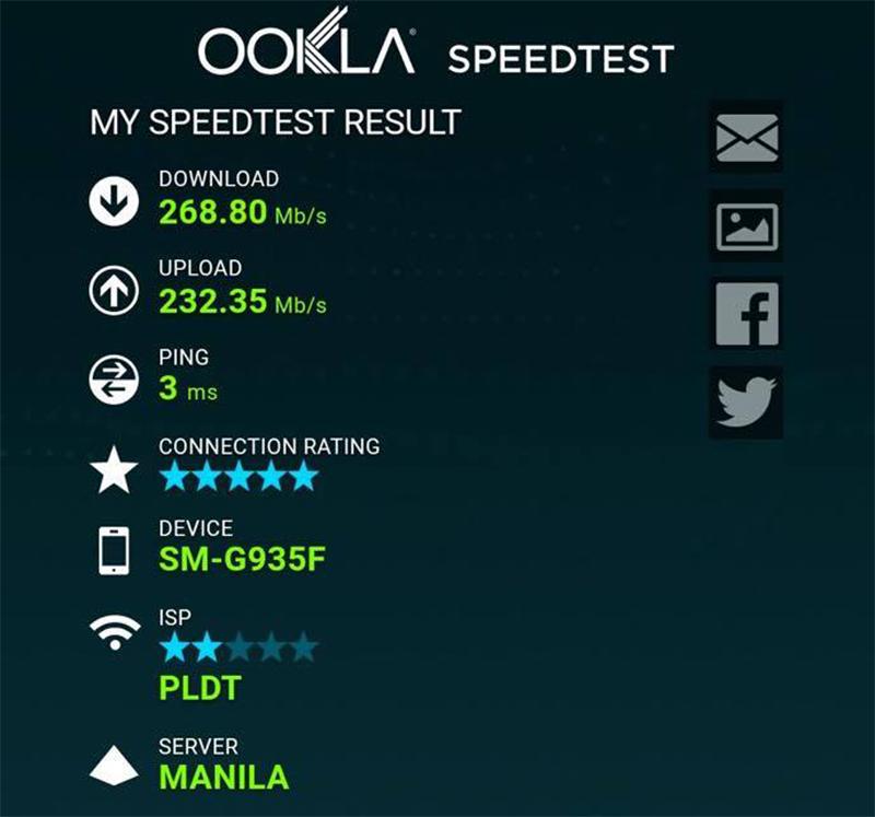 Faster internet!