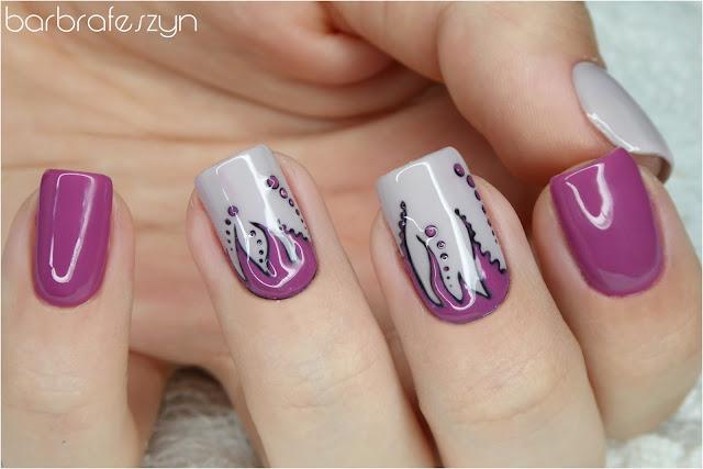 hybrydowe paznokcie