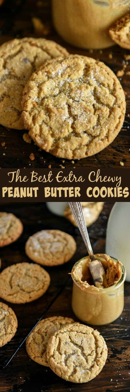 The Best Chewy Peanut Butter Cookies Recipe