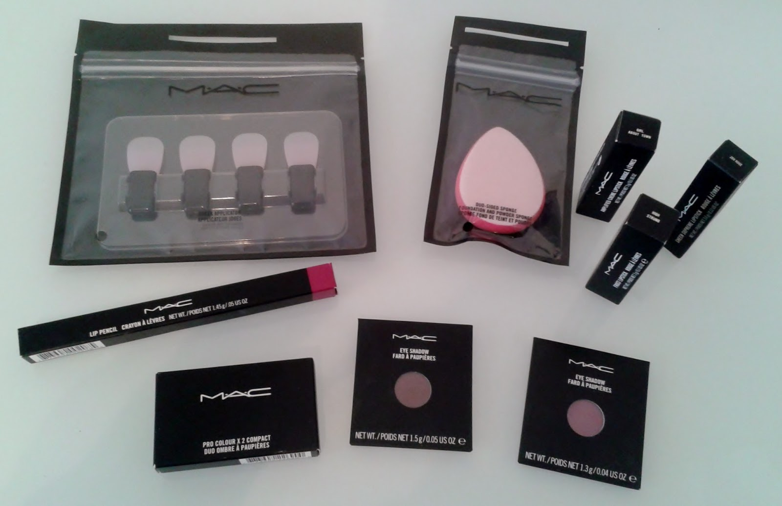 MAC make-up haul
