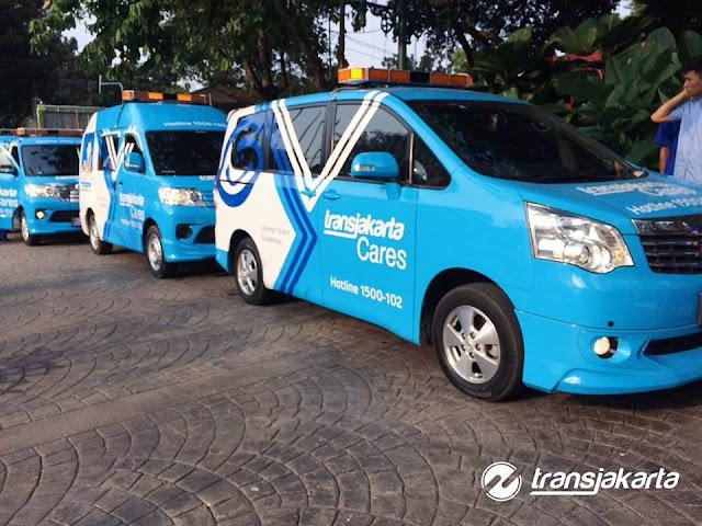 Transjakarta Meluncurkan Fasilitas Transjakarta Cares Untuk Kaum Difabel