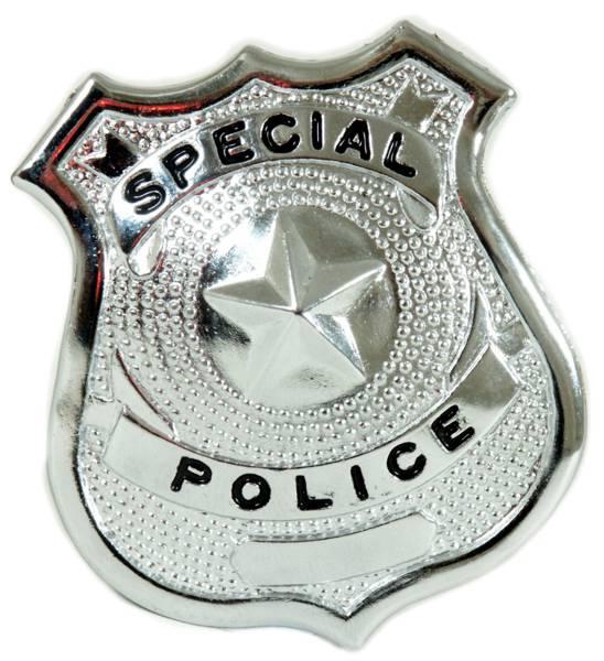 Special Police Badge Big