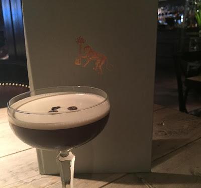 Motel One, Pleased to Meet You & Osaka | Date night in Newcastle - Orange Espresso Martini