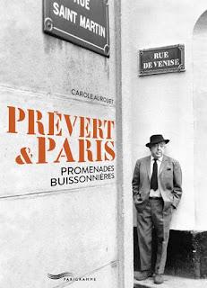 Prévert & Paris : Promenades Buissonières de Carole Aurouet