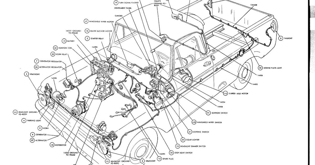 Turn Signal Wiring Diagram 1956 Ford F100 Turn Signal Wiring Diagram