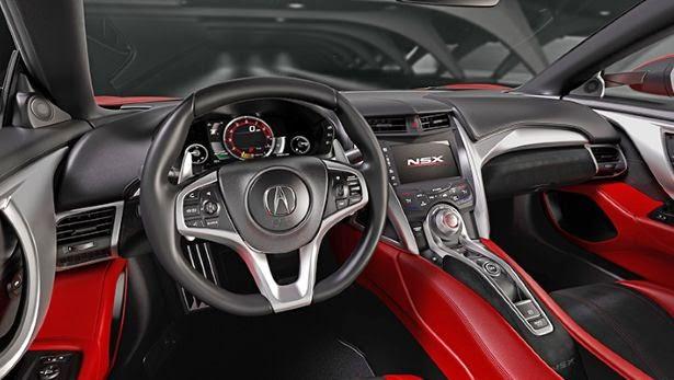 Inside Acura NSX