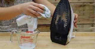 Καθάρισε το βρώμικο σίδερο σου