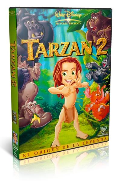 TARZAN 2 DVDR NTSC Español Latino Menú Full 2005