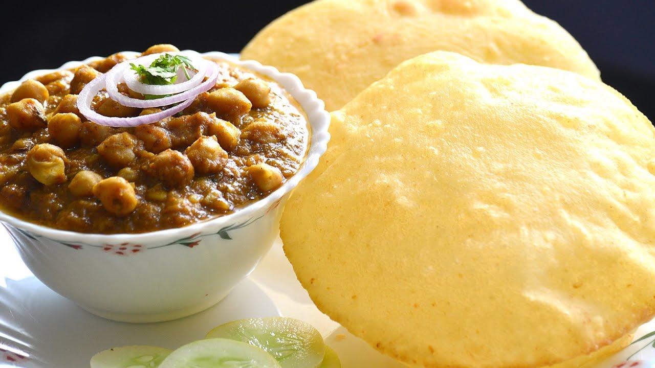 Chole bhature recipe punjabi indian recipes snacks n recipes how to make authentic punjabi chole bhature indian recipe forumfinder Gallery