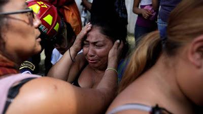 Decenas  de jóvenes muertas incendio centro menores en  Guatemala