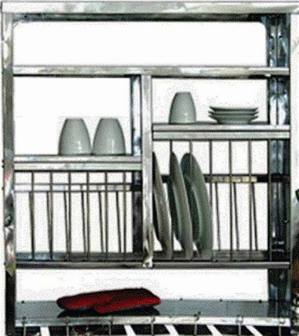 Stainless Steel Kitchen Plate Rack Looking For Wall