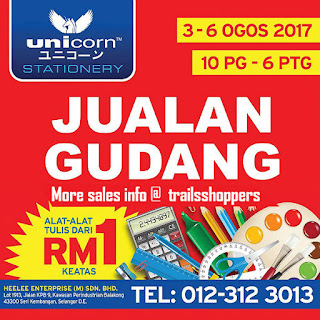 Unicorn Stationery Warehouse Sale 2017