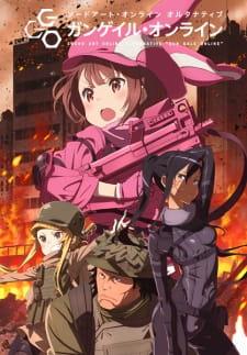 Ver online descargar Sword Art Online Alternative: Gun Gale Online episodios listado Sub Español