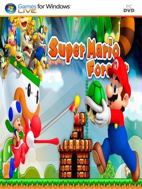 تحميل لعبة Super Mario Forever 2016 مضغوطة برابط واحد مباشر كاملة مجانا