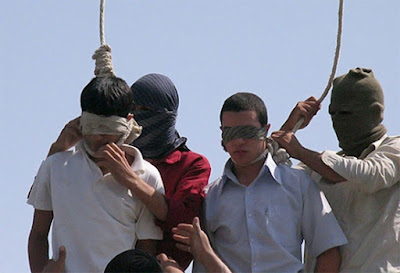 Hanging juvenile offenders: not an uncommon occurrence in Iran