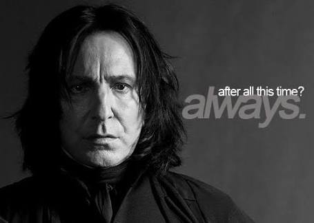 Image result for snape after all this time