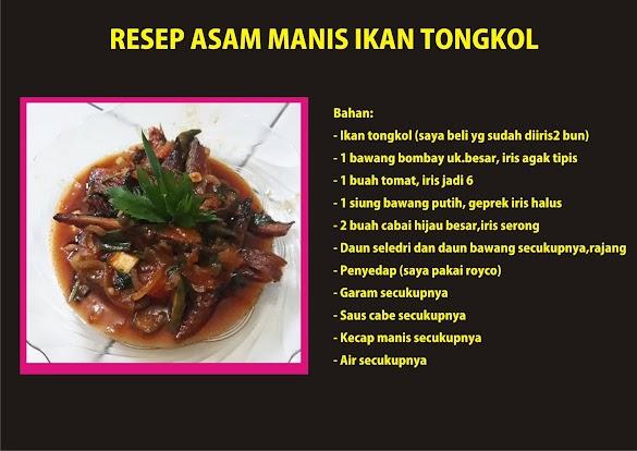 Resep Asam Manis Ikan Tongkol dan 7 Manfaatnya