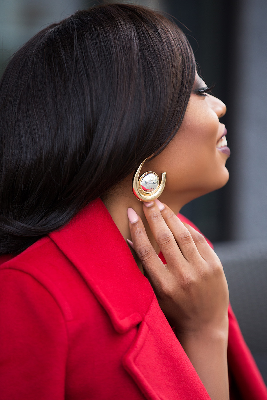 asos statement hoop earrings, www.jadore-fashion.com