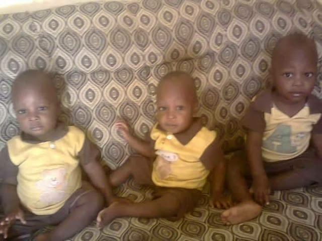 Over the weekend, a fire outbreak at a home in Hadejia town, Jigawa state killed a set of triplets named Hassan Sale, Hussain Sale and Muhusin Sale, and their younger brother, Aliyu Sale.