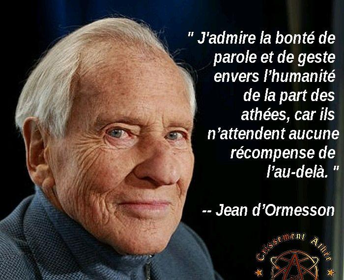 Citation Jean D Ormesson Amour