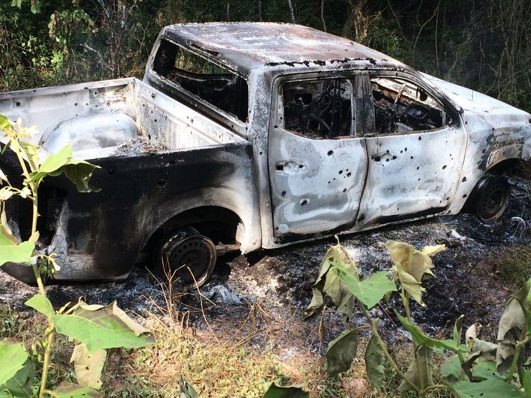 La emboscada de Los Beltran Leyva en Escuinapa a los del Cartel de Sinaloa, cinco sicarios muertos