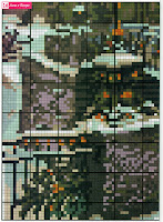 Вышивка бисером зима в Питере. Схема