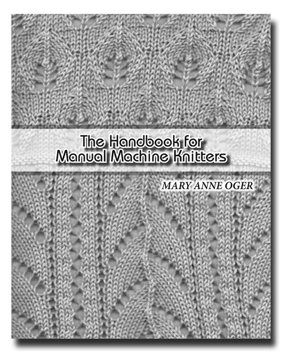 TOM MACHINE KNITTING GUY: A New Machine Knitting Book!