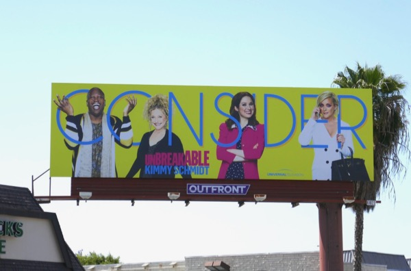 Unbreakable Kimmy Schmidt 2018 Emmy FYC billboard